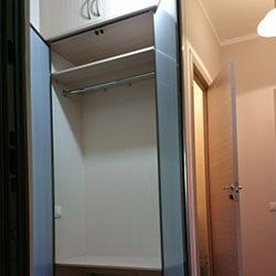 Встроенный шкаф-купе № 0247