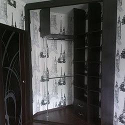 Встроенный шкаф-купе № 0251