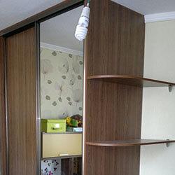 Встроенный шкаф-купе № 0252
