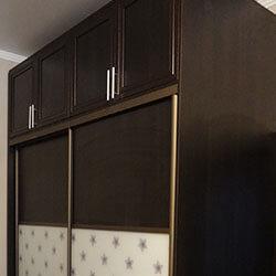 Встроенный шкаф-купе № 0255
