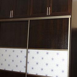 Встроенный шкаф-купе № 0256
