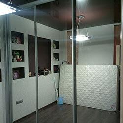 Встроенный шкаф-купе № 0260