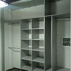 Встроенный шкаф-купе № 0261