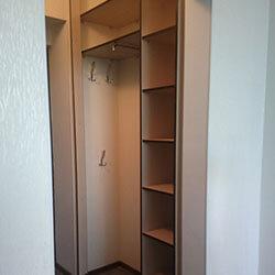 Встроенный шкаф-купе № 0263