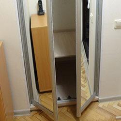 Встроенный шкаф-купе № 0265