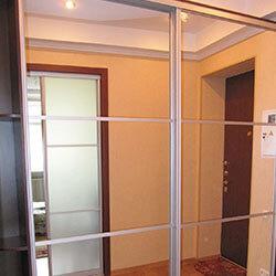Встроенный шкаф-купе № 0269
