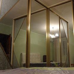 Встроенный шкаф-купе № 0270