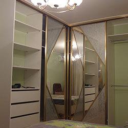 Встроенный шкаф-купе № 0271