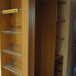 Встроенный шкаф-купе № 0273
