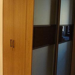 Встроенный шкаф-купе № 0274