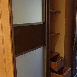 Встроенный шкаф-купе № 0275
