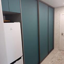 Встроенный шкаф-купе № 0283