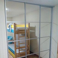 Встроенный шкаф-купе № 0284