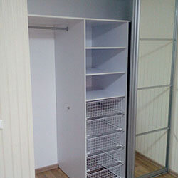 Встроенный шкаф-купе № 0285