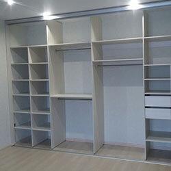 Встроенный шкаф-купе № 0296