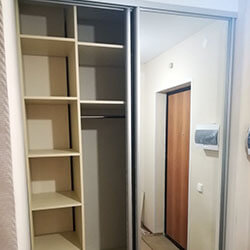 Встроенный шкаф-купе № 0300