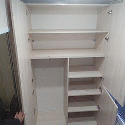 Встроенный шкаф-купе № 0309