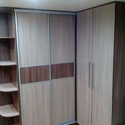 Встроенный шкаф-купе № 0310