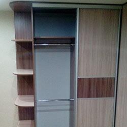 Встроенный шкаф-купе № 0311