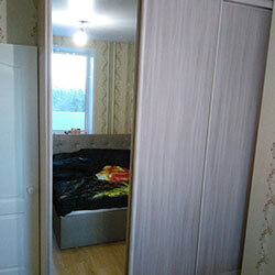 Встроенный шкаф-купе № 0312