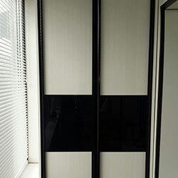 Встроенный шкаф-купе № 0036