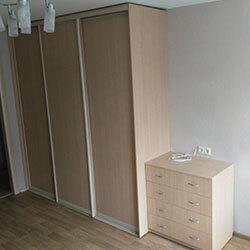 Встроенный шкаф-купе № 0320