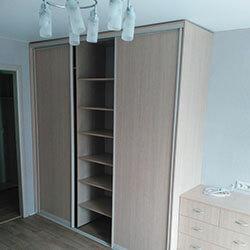 Встроенный шкаф-купе № 0321