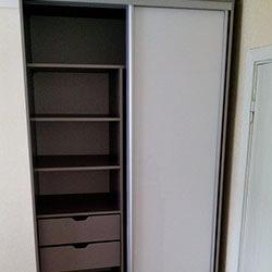 Встроенный шкаф-купе № 0323