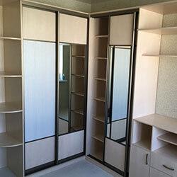 Встроенный шкаф-купе № 0037