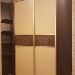 Встроенный шкаф-купе № 0328