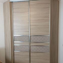Встроенный шкаф-купе № 0332