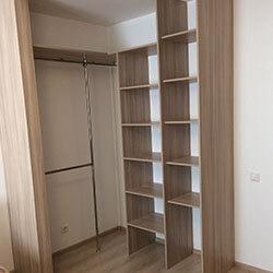 Встроенный шкаф-купе № 0333