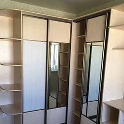 Встроенный шкаф-купе № 0038