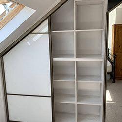 Встроенный шкаф-купе № 0335