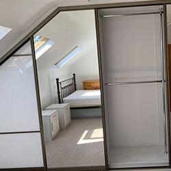 Встроенный шкаф-купе № 0337