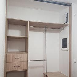 Встроенный шкаф-купе № 0342