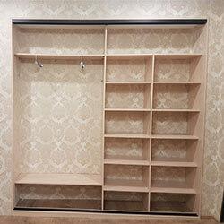 Встроенный шкаф-купе № 0344