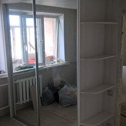 Встроенный шкаф-купе № 0039
