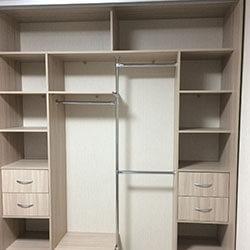 Встроенный шкаф-купе № 0346
