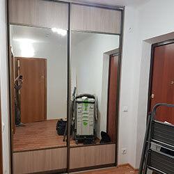 Встроенный шкаф-купе № 0347