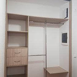 Встроенный шкаф-купе № 0348