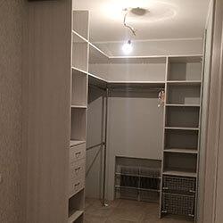 Встроенный шкаф-купе № 0352