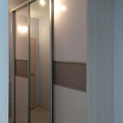Встроенный шкаф-купе № 0355