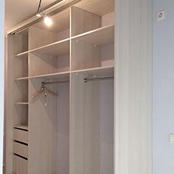 Встроенный шкаф-купе № 0356