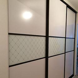 Встроенный шкаф-купе № 0359
