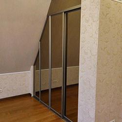 Встроенный шкаф-купе № 0361