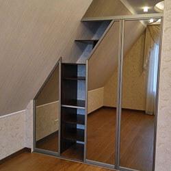Встроенный шкаф-купе № 0362
