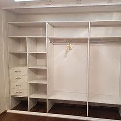 Встроенный шкаф-купе № 0366