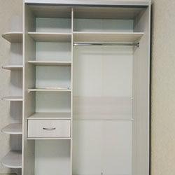 Встроенный шкаф-купе № 0371