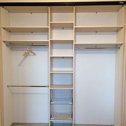Встроенный шкаф-купе № 0373